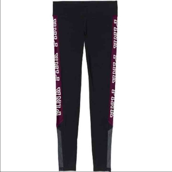 487cceaadbe4a NWT VS Pink Friday Ultimate Leggings - Maroon XS NWT
